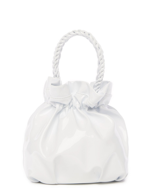 GRACE BAG | WHITE PATENT