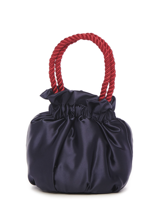 GRACE BAG | NAVY/CHERRY