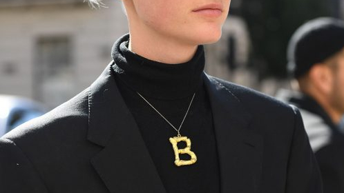 Celine Letter necklace, Say My Name!