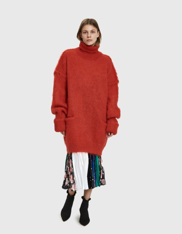 Maison Margiela Mohair Sweater Dress
