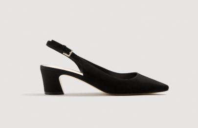 Slingback heel shoes