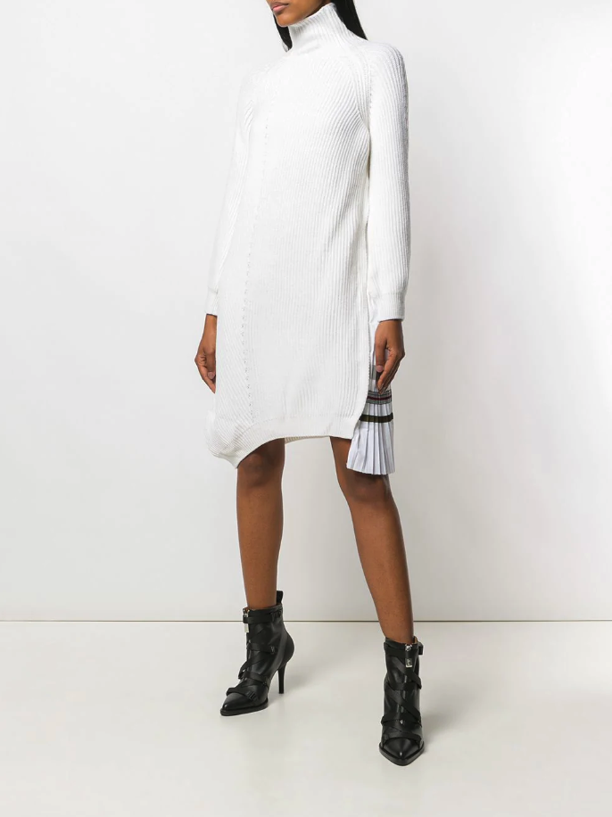 ICEBERG asymmetric knitted dress