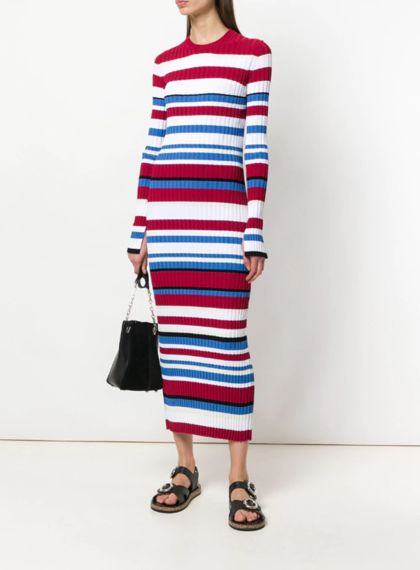 MRZ striped sweater dress