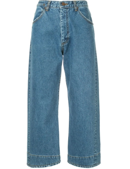 WE11DONE cropped jeans HK$2,848